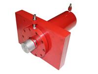 ROTEK 100t Hydraulikzylinder für Werkstattpressen, WZWP-100EV(wide) - 100 Tonnen = 1000 kN