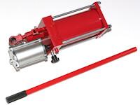 Hydraulikpumpe bis 700 Bar für Werkstattpressen mit manuellem und Druckluftantrieb